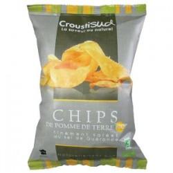 Chips Pétales de Carottes au Thym Croustisud