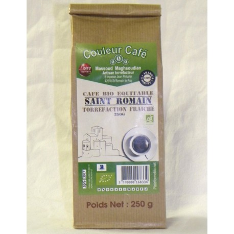 Café Saint Romain Bio Equitable moulu 250g