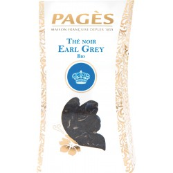 Thé noir bio Earl Grey vrac