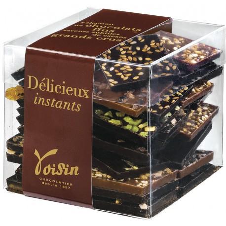 Cube de Carrés de Chocolats Croc'Télé Voisin
