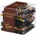 Cube de Carrés de Chocolats Croc'Télé