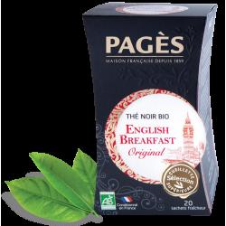 Thé noir English Breakfast bio Pagès