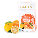 Infusion saveur Yuzu Mandarine bio 20 sachets