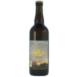 Bière ambrée bio Fleur de Noël