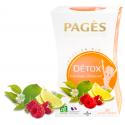 Infusion Bio Détox Framboise Citron Vert 20 sachets