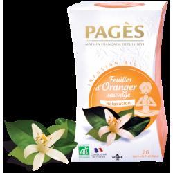 Infusion Feuilles d'Oranger sauvage Bio 20 sachets