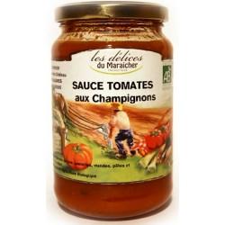 Sauce Tomates aux Champignons Bio 330g