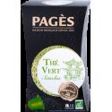 Thé vert Sencha bio Pagès 10 capsules