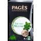 Thé vert Menthe bio Pagès 10 capsules