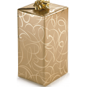 Option cadeau - Papier cadeau Doré