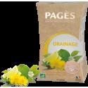 Infusion Bio Détox Drainage Framboisier-Pissenlit-Citron vert aux Huiles Essentielles 20 sachets