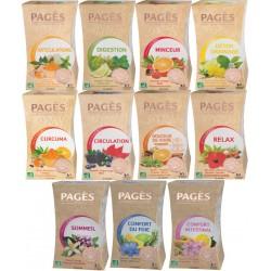 Pack Essentiel - Lot 11 infusions aux Huiles Essentielles