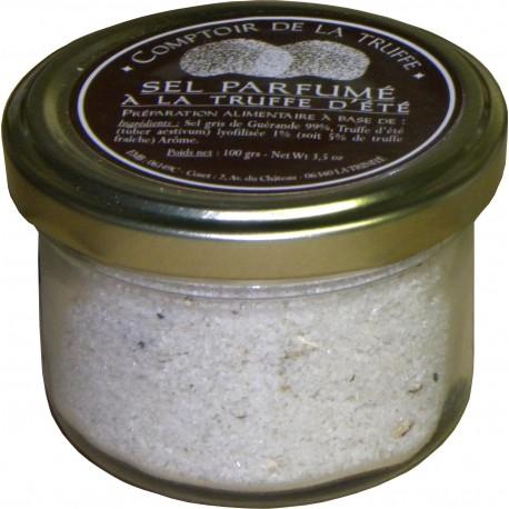 Sel parfumé à la truffe d'été Comptoir de la Truffe