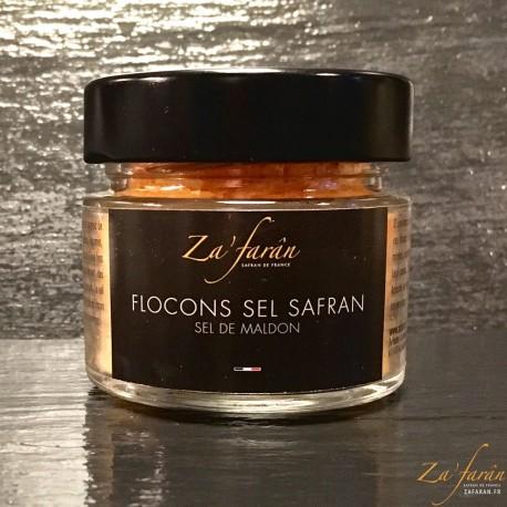 Flocons de Sel parfumé au Safran