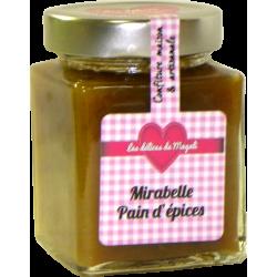 Confiture de Mirabelle Pain d'épices