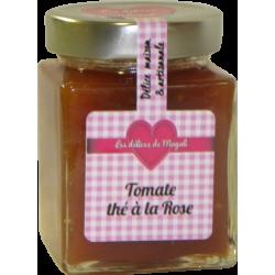 Confiture de Tomates au thé à la rose