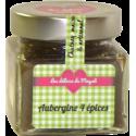 Chutney artisanal Aubergine 4 épices