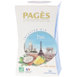 Infusion Paris by night Pina Colada 20 sachets
