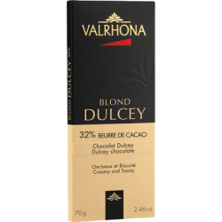 Tablette chocolat blond Dulcey 32% 70g