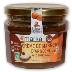 Crème de Marrons d'Ardèche vanillée avec morceaux Markal