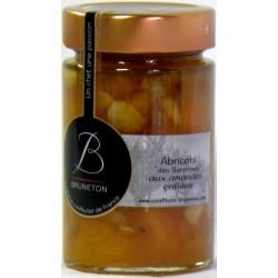 Confiture d'Abricots des Baronnies aux amandes grillées Bruneton
