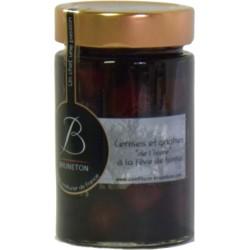 Confiture de cerises et griottes de l'Isère à la fève de tonka Bruneton