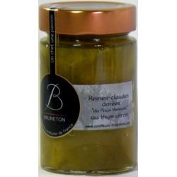 Confiture de Reines-Claudes dorées du Pays Viennois au thym citron Bruneton