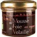 Mousse de Foie de Volaille au Cognac  bio