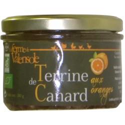 Terrine de canard aux oranges bio Ferme de Valensole