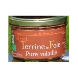 Terrine de Foie Pure Volaille Bio Ferme de Valensole