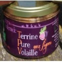 Terrine Pure Volaille aux Figues Bio