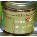 Terrine Pure Volaille aux Olives Bio