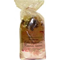 Préparation Cake Spéculoos Pomme Raisins Légendes Gourmandes