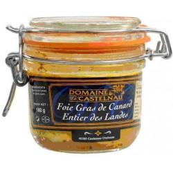 Foie gras de canard entier des Landes IGP Domaine de Castelnau