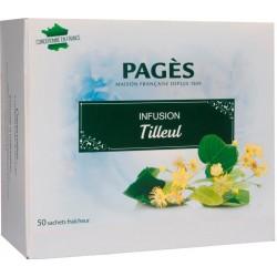 Infusion Tilleul 50 sachets Pagès