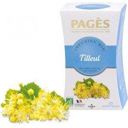 Infusion Tilleul bio Pagès