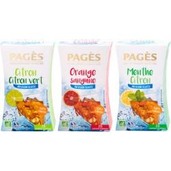 Pack Glacé - Lot 3 infusions glacées bio Pagès