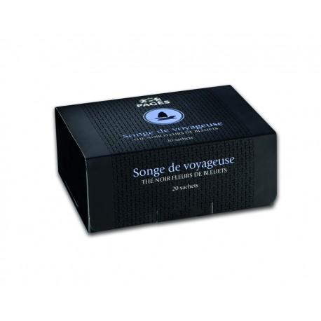 Thé noir fleurs de bleuets Songe de voyageuse Prestige du Monde Pagès