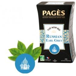 Thé noir Russian Earl Grey bio Pagès