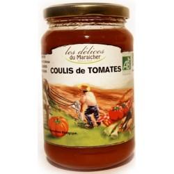 Coulis de tomates bio Délices du Maraîcher