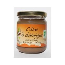 Crème de Châtaignes aux écorces d'Orange Confites Forêt du Puy