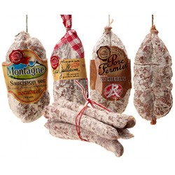 Assortiment de 9 saucissons secs Rocheblin