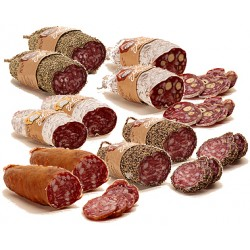 Assortiment de 10 saucissons du marché Rocheblin