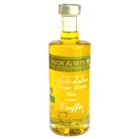 Huile d'Olive vierge extra Bio Saveur Truffe Savor & Sens