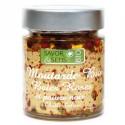 Moutarde Bio Baies Roses et Poivre Noir à l'huile d'olive