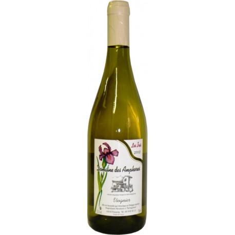 Les Iris, vin blanc Viognier IGP Collines rhodaniennes Domaine des Amphores