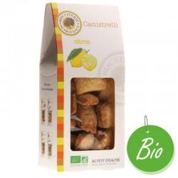 Canistrelli bio au citron Biscuiterie de Provence