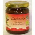 Castanella, pâte à tartiner Châtaigne, noisette et cacao 230g