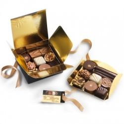 Ballotins de 19 chocolats fins assortis