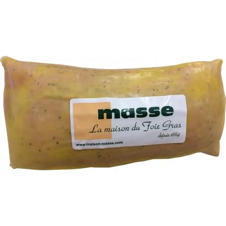 Foie gras de canard entier mi-cuit poché Masse la maison du foie fras